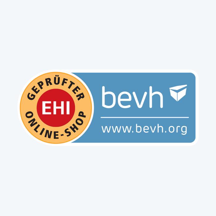 Sicher einkaufen - zertifiziert vom bvh und EHI Retail Institute