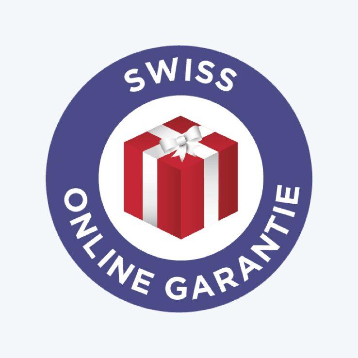 """Ausgezeichnet mit dem """"Swiss Online Garantie""""-Siegel"""