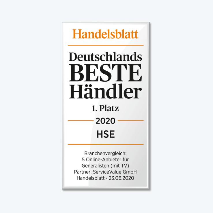 """Handelsblatt """"1. Platz"""""""